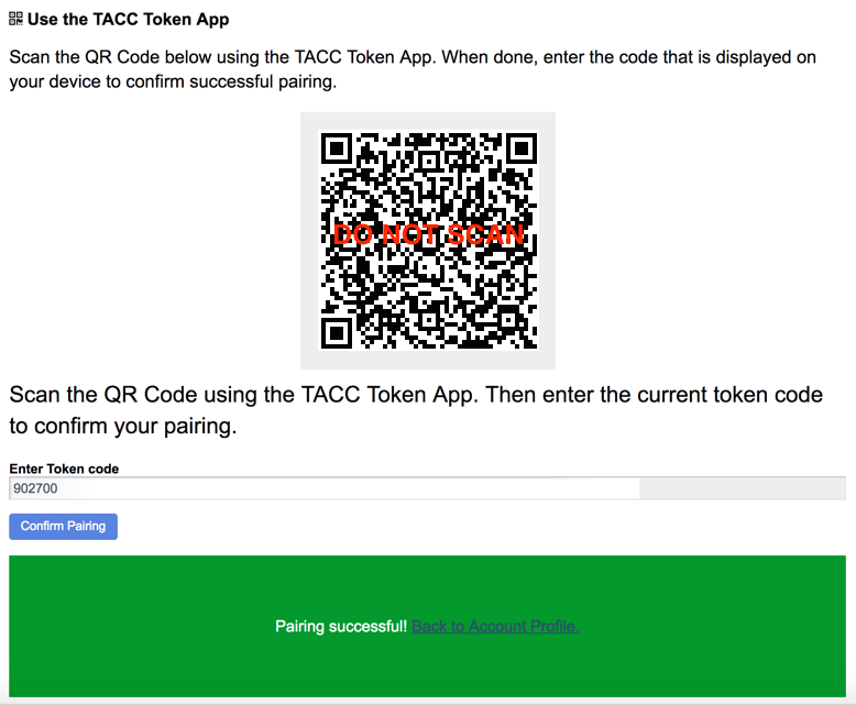 Multi-Factor Authentication at TACC - TACC User Portal